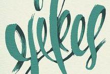 Letras / by Ana Vega