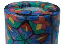 Candles- Handmade and Fair-Trade / Gorgeous candles from Africa.Lovely #fair-trade candle hand crafted