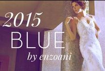 2015 Blue by Enzoani Collection / by Enzoani