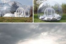 Glamping! / Camping in style and comfort.  Dreamy!
