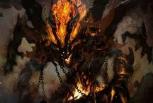 Fantasy: Creatures & Monsters / Fantasy: Creatures & Monsters is a geekinthecloset.com Pinterest board that contains cool images of magical and mundane creatures and monsters for fantasy roleplaying games such as the Pathfinder RPG and D&D for reference and to inspire entertainment designers.