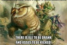Fantasy: Humor & Fun / Fantasy: Humor & Fun is a geekinthecloset.com Pinterest board that contains funny images of roleplaying game related humor.