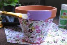 Flower Pot & Vase Ideas / by Hollie Welch