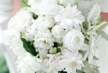 Inspired ~ Wedding Party Details / Bouquets, boutonnieres, wearable florals, and other darling details for the bridal party