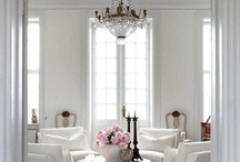 White plus Bright / I Love White Interiors with Splashes of Colour / by Suzanne