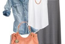 My Stitch Fix Style Inspiration / Things I'd like my stylist to use for inspiration for fixes / by Staci Bond