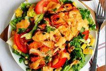 salads / by Tristie
