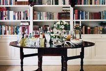 Living with books | Library Decor