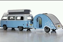 Trailer Treasures / Prefer my stylish aerodynamic teardrop to a tent when camping (though I dream about an Airstream), especially in the Australian Countryside with all those snakes, spiders, wild kangaroos and crocodiles ;)  / by Suzanne