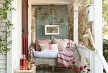 Come and sit a spell / All kinds of porch and deck inspirations / by Roxanne Coe