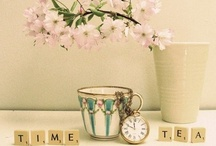 Tea Time ... / by Thona Acosta