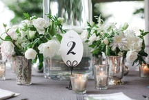 Inspired ~ Escort, Placecard, Table Numbers / Guiding you guests with style should not be an afterthought.