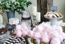 Inspired ~ Sweet & Savory Displays / Stylish settings for sweets and savories to inspire the most fashionable fetes