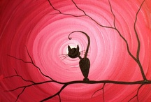 Cat illustrations / by Karin Sequen