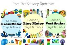 Sensory Toys & Tools / Sensory Products and Occupational Therapy Products for Kids Facing Sensory Challenges, including Sensory Processing Disorder, Aspergers, Autism and other Special Needs.