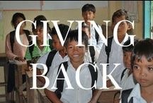 Giving Back / by KAYU