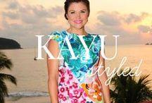 Kayu Styled / See how people style KAYU! / by KAYU