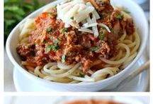 Pastabilities / pasta recipes / by Tristie