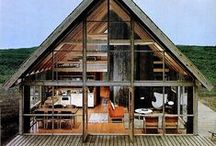 Home Sweet Home / Cabins, home design, dream houses, rooms we love, furniture we need, and interiors we dream about.