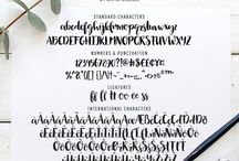 Typography / Typography, fonts, text, design