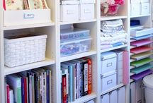 Get Organized ♥ / Tips on how to keep things organized.  A few cleaning tips too :)
