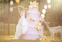 Spring Modcloth Wedding / A vintage fairytale in neutrals for a timeless memory