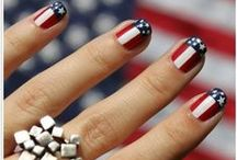 USA Nails! / Independence Day • World Cup • Labor Day • Election Day This collection of manis is for everyone who loves the USA!  / by OPI
