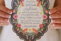 Wedding: the possibilities are endless! / The board was kept secret until NOW! / by Katie Stark