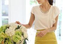 Spring & Summer wardrobe / by Elizabeth Gilbertson