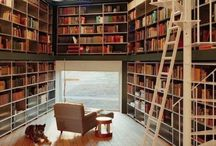 Dream Library ♥ / Home library ideas.  Surround yourself with books ॐ