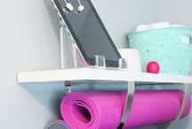 Home gym / by Elizabeth Gilbertson