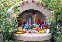 Home Altar ☾ / Beautiful home altars and ideas on how to set up your own home altar ॐ