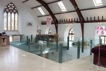 Converted Church † / Churches renovated into homes... My dream home!