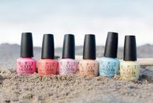 Retro Summer / Stir up a Little Summer Sensation in Six New Lacquer shades perfectly matched in GelColor / by OPI