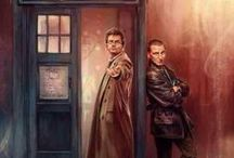 Doctor Who? / Traveling through time and space with a mad man in a blue police box.