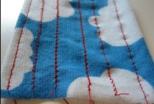 Sewing with knits / Tutorials I've come across about sewing  with knit fabric / by kitschycoo