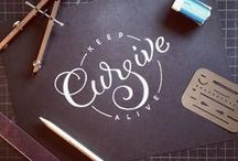 Typography & Lettering / by Corina Rivera