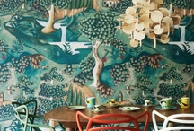 WALL wallpapers&laminats / by Justyna Piwowarczyk