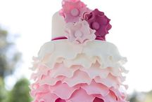 Fancy Cakes / i love pretty cakes! whether its for a party or a friends wedding idea. you must have a fancy cake! / by Melanie Luttrell