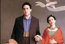 Frida & Diego / Love both of their art and we loved the movie fascinating couple
