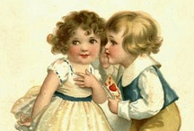 Vintage postcards / by Lady Quilter