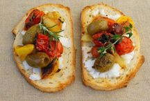 Sandwiches and tartines