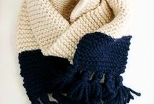 Garter Stitch / Garter stitch project inspiration