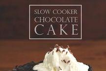 Crockpot / Slow Cooker Recipes