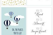 Printables For The Home / menus, meal planners, planners, calendars, inspirational quotes, pictures, printables, check lists, recipe cards, home binders, home planners