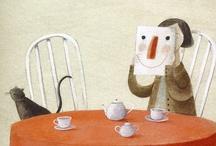 Illustration / Illustration, graphic design, drawings. / by Eva Eland