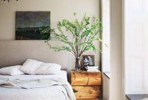 HOME- SLEEPY SPACES / A grey bedroom board of delight