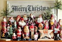 Santa's and Holiday / by Patti Robb