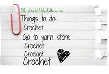 Yarn ,yarn bags & crocheting stuff :) / by Summer Rupe