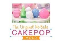 Cake Pop No Bake Mini-Molds™ / Available in 5 shapes; Cupcake, Heart, Ball and Cone and Snowman (not just for snow!)